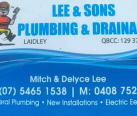 Lee & Sons Plumbing